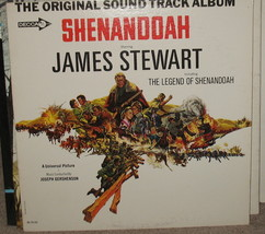 Original Soundtrack Shenandoah LP James Stewart DL 9125 - $19.99