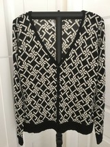 Talbots Women's Merino Wool Cardigan Sweater, Button Down, Size Medium - $18.00