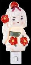 Girl  Electric Oil or Tart Warmer  Aroma Night Light Flowers - $9.99
