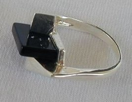 Stylish onyx ring - $24.00