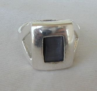 Primary image for Grey cat eye ring