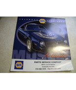 2004 NAPA Automobile Themed Calendar - $14.00