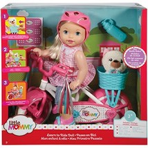 Little Mommy Learn To Ride Girl Set - w/ Doll, Bike and Accessories - $106.18