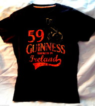 GUINESS Promo Shirt (Size SMALL) Brewed in Ireland! - $21.36