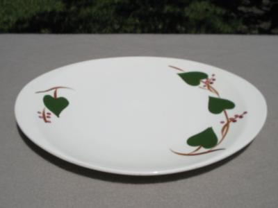 Blue Ridge Hand Painted Pottery Ivy Berries Platter