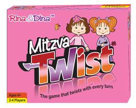 Rina and Dina Mitzva Children Twist Card Game ~NEW~ - $10.99
