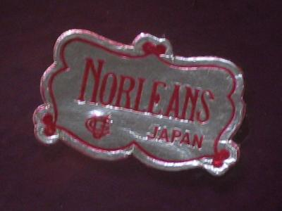 Norleans Cased Blown Glass Basket Amethyst Purple