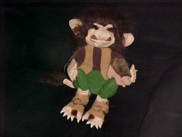 "16"" Rare Folkmanis Troll Hand Puppet With Finger Hedgehog Plush Toy Reti... - $140.24"