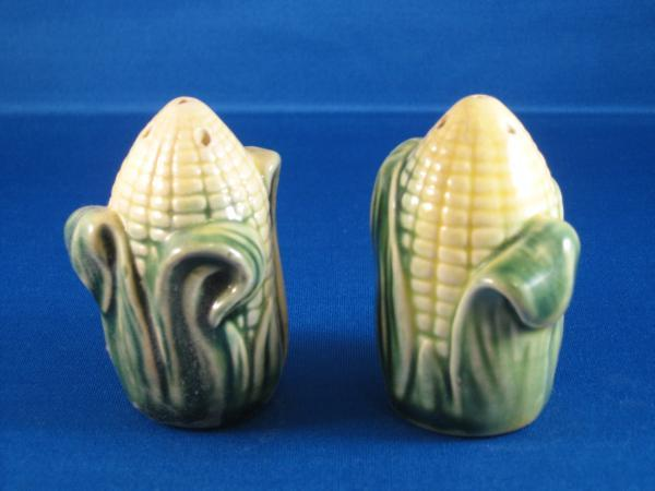 Vintage Corn on Cob Salt & Pepper Shakers S/P Stanford