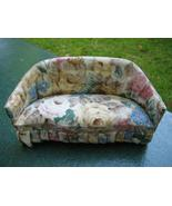 Miniature Dollhouse Floral Cushioned Sofa Couch - $20.00