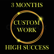 NO DEALS 3 MONTHS OF CUSTOM HIGH SUCCESS AMULETS MAGICK FULL COVEN 95 ALBINA - $342.00