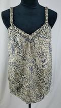 Banana Republic women S sleeveless silk blouse - $17.82