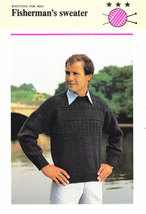 Knitting For Men Fisherman's Sweater Free With Purchases See Details - $0.00