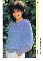 KNITTING IN STYLE SPOTTED SWEATER - $0.00