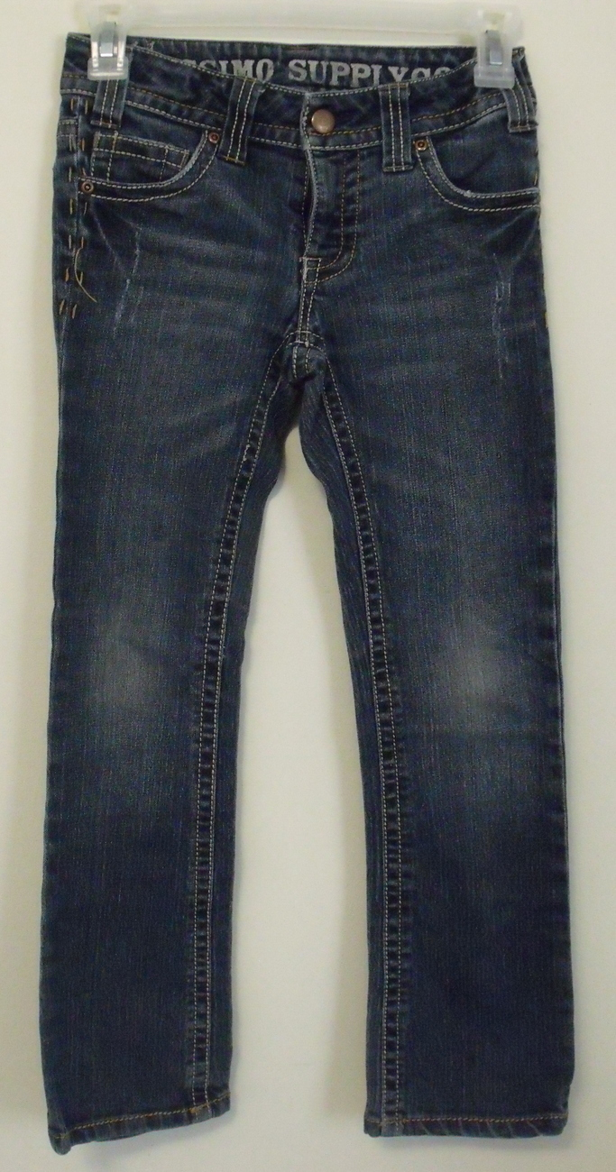 4c273203 Girls Mossimo Supply Co Denim Blue Boot Cut Jeans Size 8 - $8.95