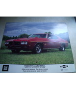 2005 GM Muscle Car Calendar from Roberts Auto Mall, Downingtown PA - $16.00