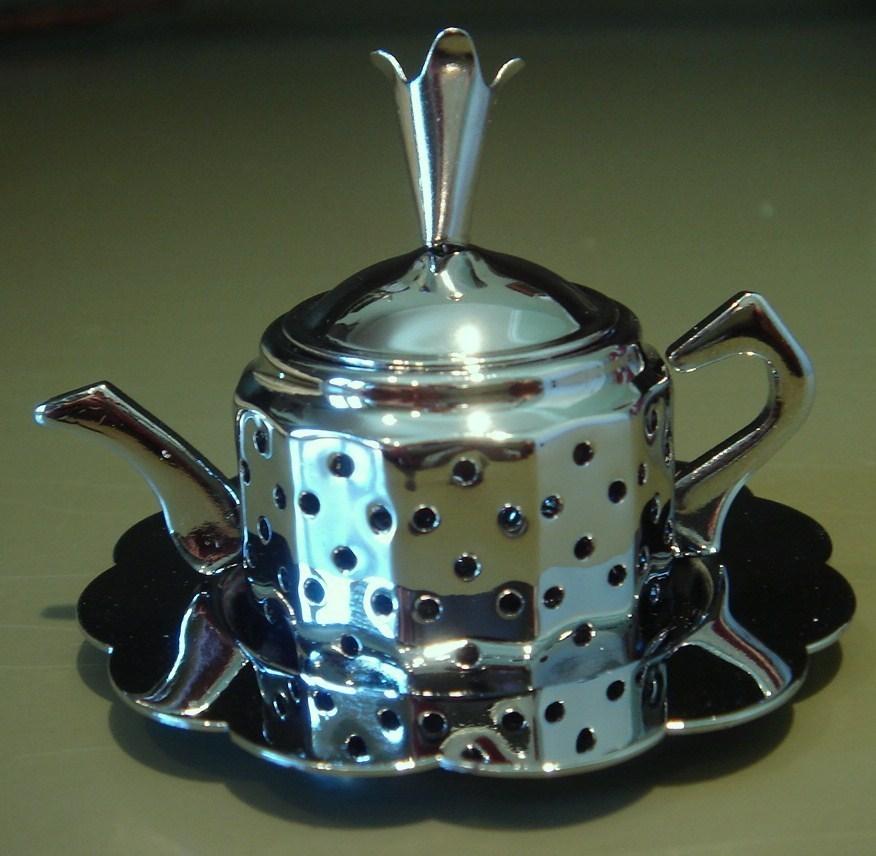 Tea Infuser, Teapot with Tray