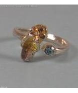 Blue Crystal Sandal Toe Ring - $8.99