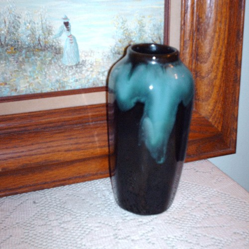 Primary image for Blue Mountain Pottery 8 sided Vase