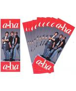 10 A-HA MINI-POSTER BOOKMARKS 1986 - $9.98