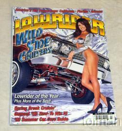 Lowrider magazine -July 1999