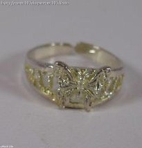 Silver Butterfly Toe Ring - $9.99