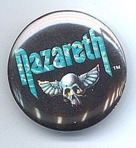 Nazareth 1980's Pinback Button near Mint - $4.98