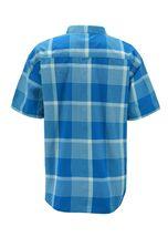 Men's Short Sleeve Cowboy Button Down Casual Plaid Pattern Western Dress Shirt image 7