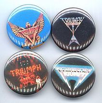 TRIUMPH Pinback Buttons 4 Different near MINT - $9.98