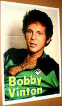 BOBBY VINTON 1978 Original Poster near Mint - $14.98