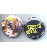 KOOL AND THE GANG 1985 Pinback Buttons 2 Different - $9.98