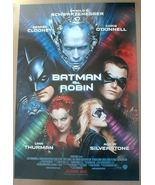 BATMAN & ROBIN MOVIE POSTER 1997 near MINT SEALED - $14.98