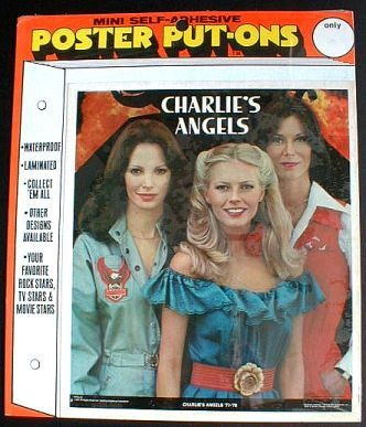 CHARLIE'S ANGELS 1977-78 Poster Put-On Sealed