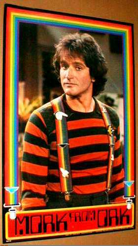 MORK FROM ORK MORK & MINDY ROBIN WILLIAMS 1979 POSTER #2
