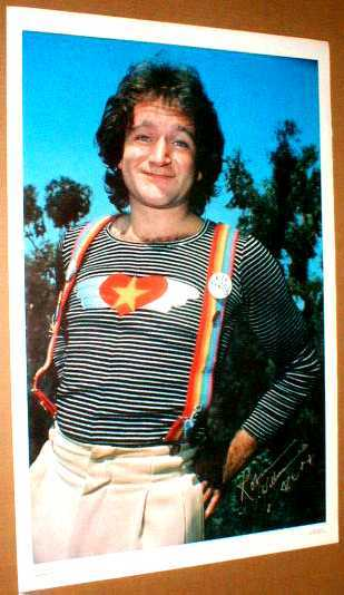 ROBIN WILLIAMS Mork from Ork MORK & MINDY 1979 Poster #1