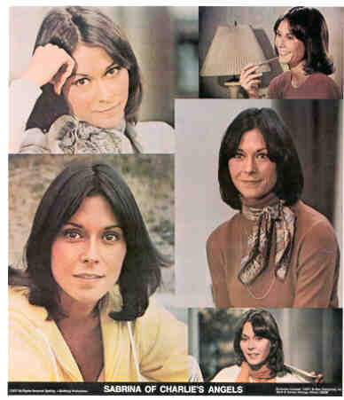 CHARLIE'S ANGELS Kate Jackson 1977 Poster Put-On