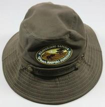 Disney Kilimanjaro Safaris Crush Hat Cap Dark Green Adult Small/Medium Mickey - $24.59