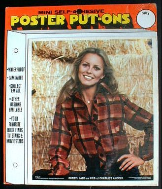 CHERYL LADD Charlie's Angels 1977 Poster Put-On Sealed