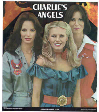 CHARLIE'S ANGELS 1977-78 Poster Put-On