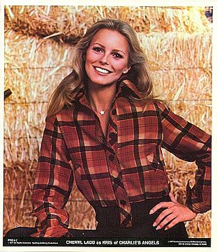 CHARLIE'S ANGELS Cheryl Ladd 1977 Poster Put-On