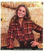 CHARLIE'S ANGELS Cheryl Ladd 1977 Poster Put-On - $5.98