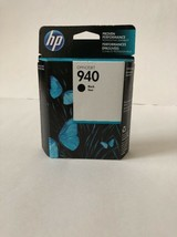 Genuine HP 940 Black Printer Ink Cartridge (C4902AN) OEM New Exp 11/2016 - $8.86
