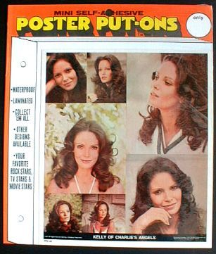 JACLYN SMITH Charlies Angels Poster Put-On Sealed