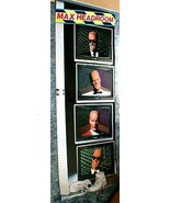 MAX HEADROOM Large 6 Foot Display Poster 1987 - $19.98