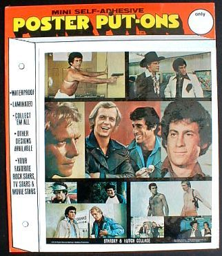 STARSKY & HUTCH Collage Poster Put-On 1976 Sealed