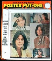 KATE JACKSON Charlie's Angels Poster Put-On Sealed - $9.98