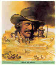 HOW THE WEST WAS WON James Arness 1978 Poster Sticker - $6.98