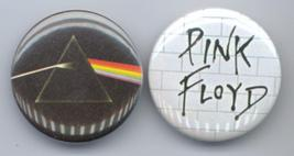 PINK FLOYD 2 ALBUM PHOTO PINBACK BUTTONS - $8.98