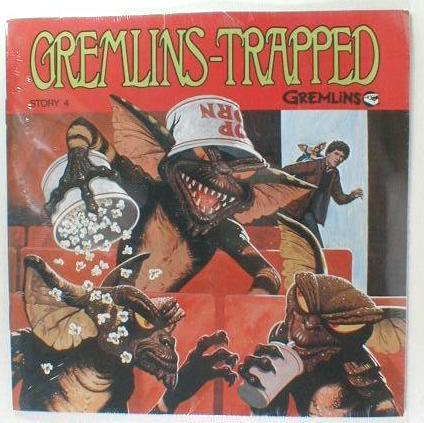 GREMLINS TRAPPED READ ALONG STORY RECORD & BOOK SEALED!