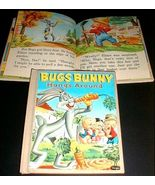 BUGS BUNNY HANGS AROUND Tell-A-Tale Library Bound 1957 - $9.98